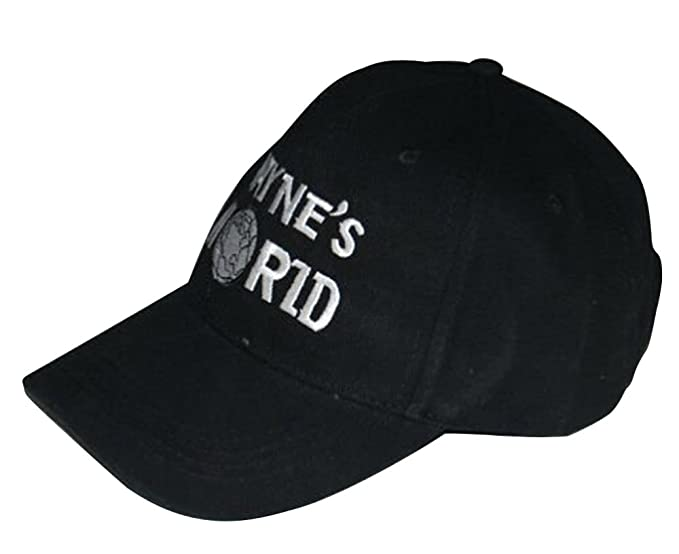 Image Unavailable. Image not available for. Color  Waynes World Hat Wayne s Embroidered  Baseball ... caf6f4248c96
