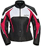 Cortech Women's GX-Sport Air 5.0 Jacket (Black/Pink, Large), 1 Pack