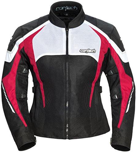 (Cortech Women's GX-Sport Air 5.0 Jacket Black/Pink)