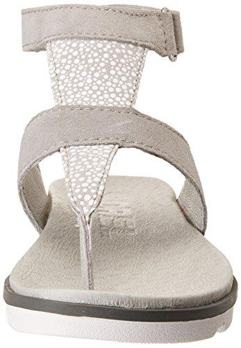 Sandalo 7 Bianco Alla Donne Torpeda Cinturino Caviglia Dove Sorel Delle wU7IBqzq
