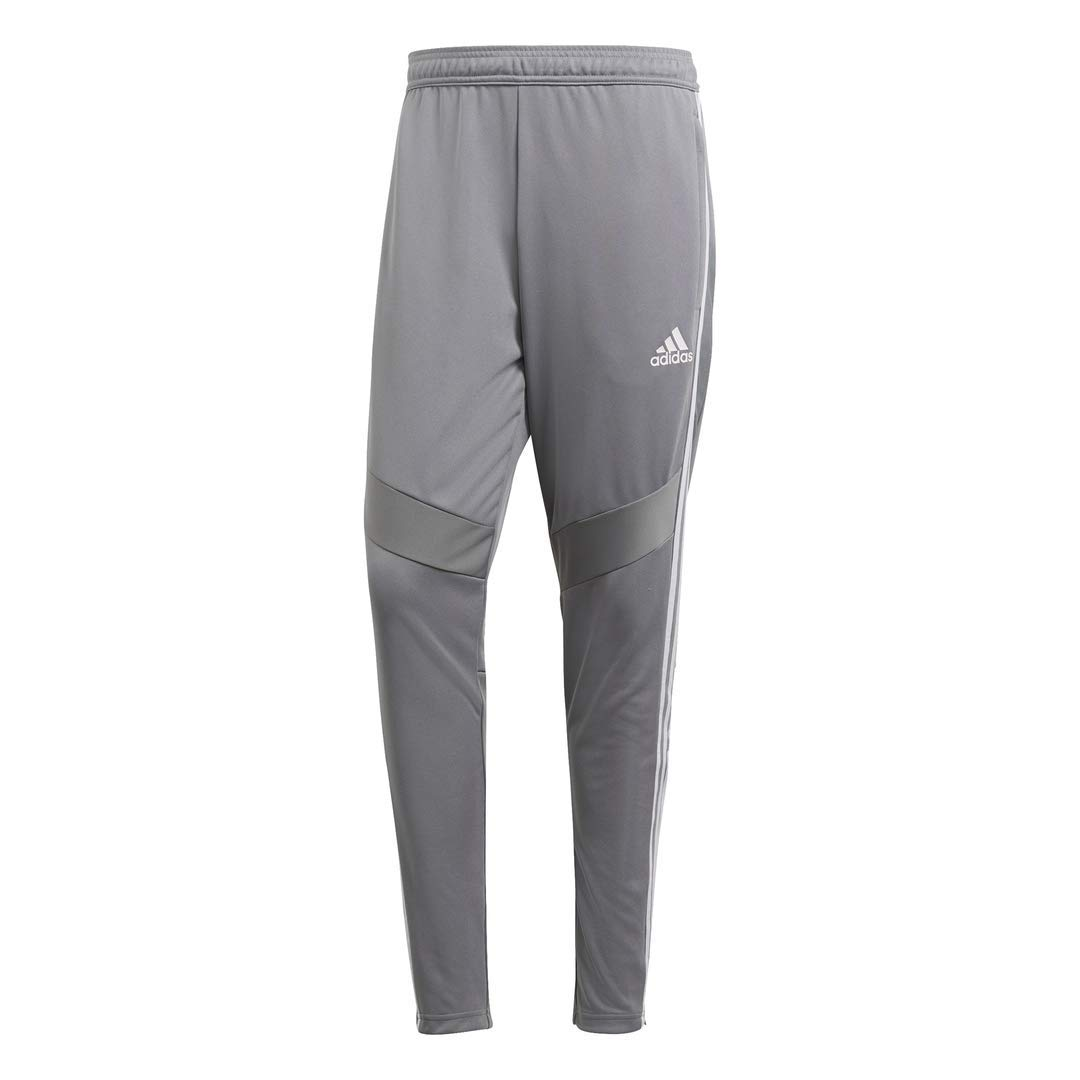 adidas Men's Tiro '19 Pants, Grey/White, Small