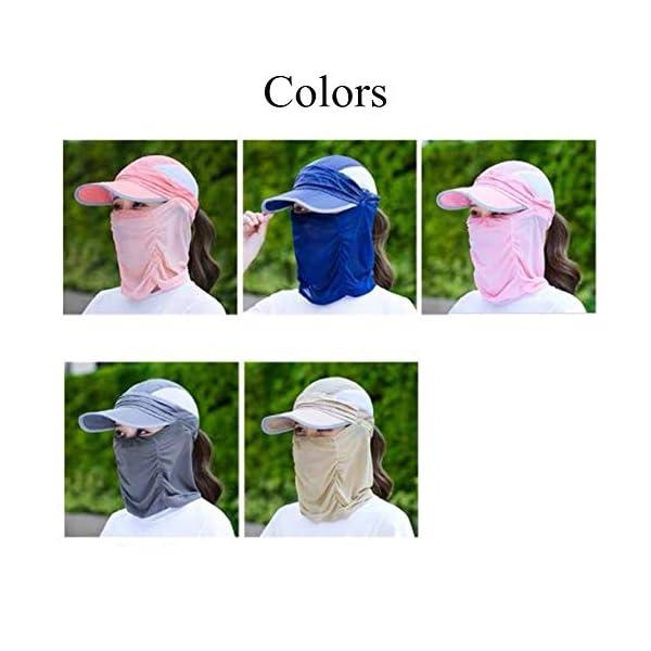 qishengshengwukeji Cappello da Sole Cappello Pescatore Mens Cappelli di Sun UV di Protezione Unisex del Cappello del… 3 spesavip