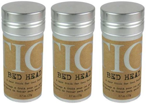BED HEAD by Tigi STICK - A HAIR STICK FOR COOL PEOPLE 2.7 OZ for UNISEX -(Package Of 3) (Wax Styling Head)