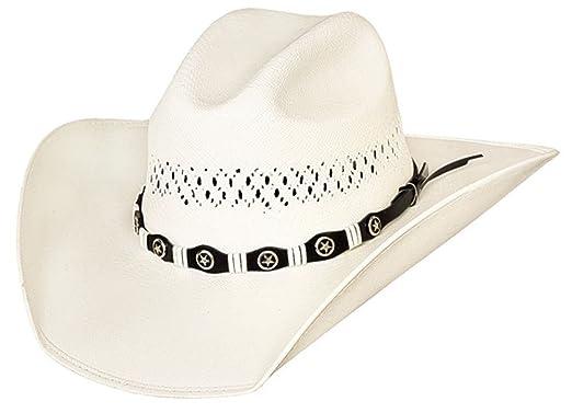 ec85c9e839b05 Justin Moore Montecarlo Bullhide Hats - Small Town USA Western 100X Shantung  Panama Straw Cowboy Hat