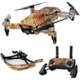 MightySkins Skin For DJI Max Coverage - Woodlands | Protective, Durable, and Unique Vinyl Decal wrap cover | Easy To Apply, Remove, and Change Styles | Made in the USA