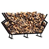 FireKing 89 by 54.5-Inch Premium Firewood Rack, Large, Bronze