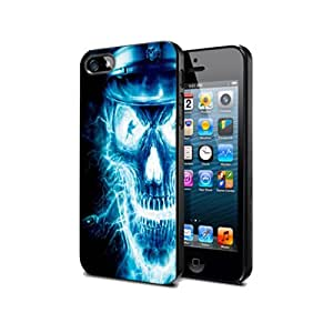 Skull Ghost Halloween Sk12 Case Cover Protection for Ipod touch 4 Black Pvc
