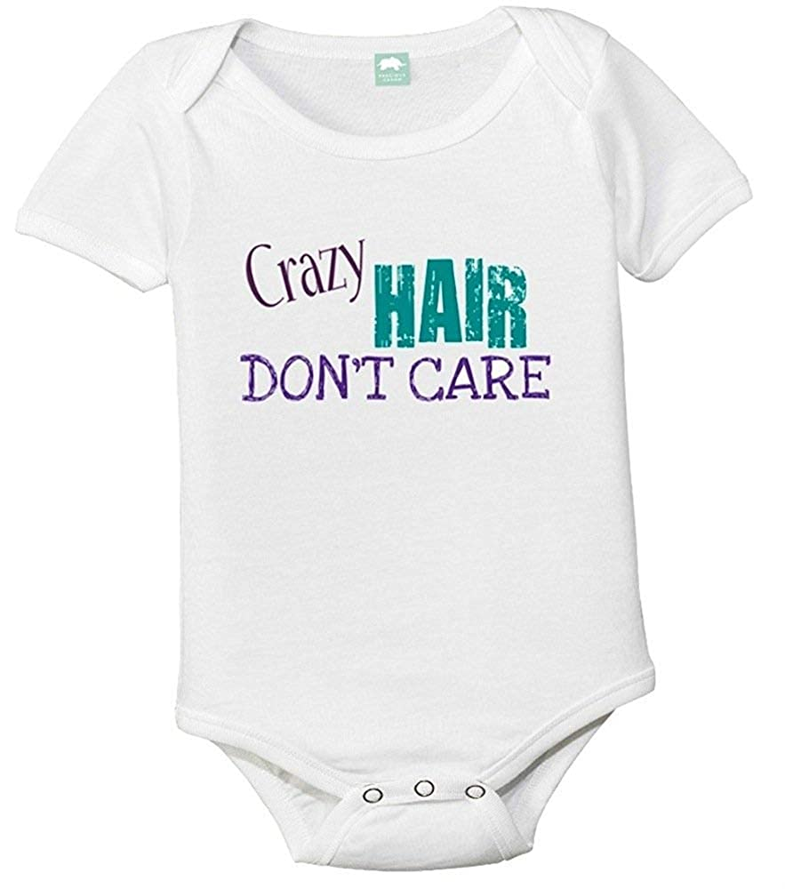 Crazy Hair Don't Care Baby Bodysuit