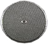 Flat Round Range Hood Filter; 11-1/2 diameter; with center hole