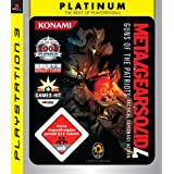 "Metal Gear Solid 4: Guns of the Patriots [Platinum]von ""Konami Digital..."""