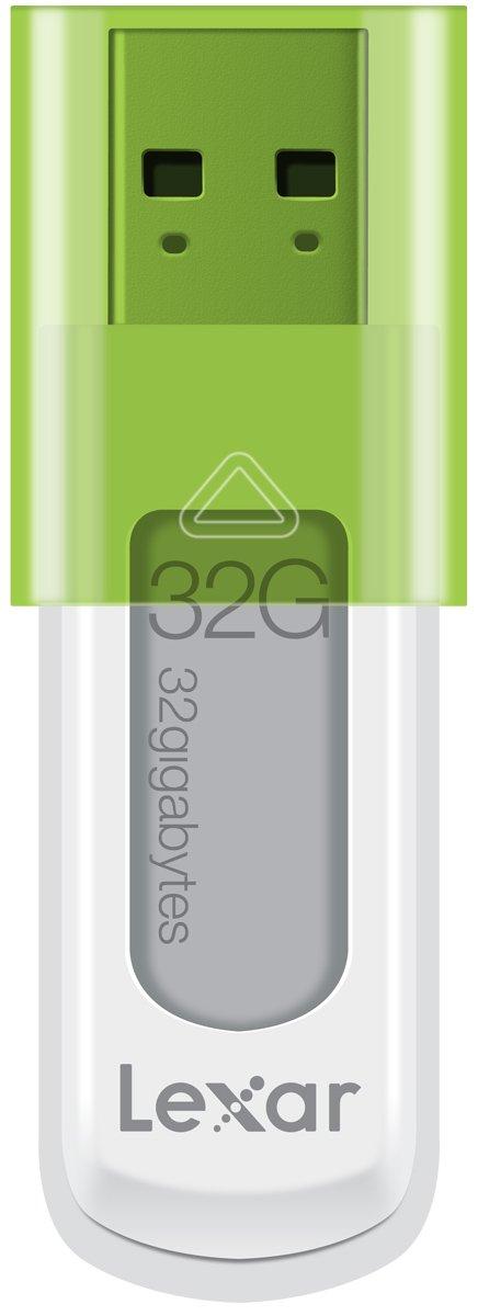 Lexar JumpDrive S50 32GB USB Flash Drive LJDS50-32GABNL (Green)