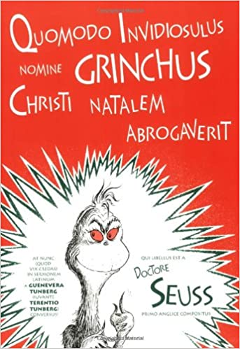 Workbook christmas grammar worksheets : Quomodo Invidiosulus Nomine Grinchus Christi Natalem Abrogaverit ...
