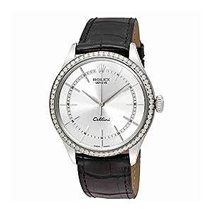 Rolex Cellini Automatic Mens Watch 50709SSBKL
