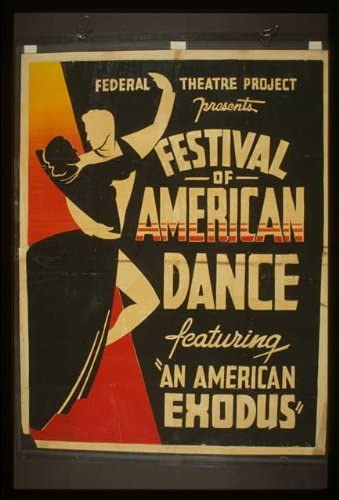 Photo Federal Theatre Project,Festival of American Dance,Los Angeles,Caliifornia,1938