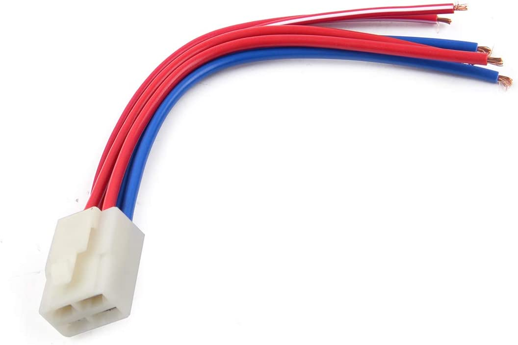 Motor Starter Relay Solenoid Cable Plug Fit For Yamaha YFM350 YFM400 YFM450 RS