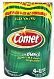 Comet Powder Cleanser with Bleach 25oz, 4 count