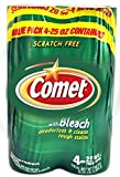 Comet Powder Cleanser with Bleach 25oz, 4 Bottles in Single pack