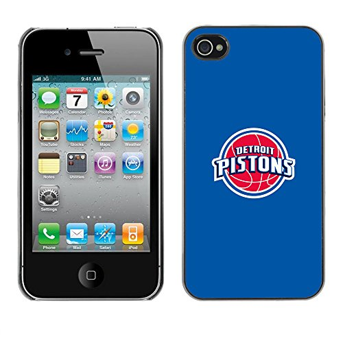 TaiTech / Case Cover Housse Coque étui - Detroit Basket - iPhone 4 / 4S