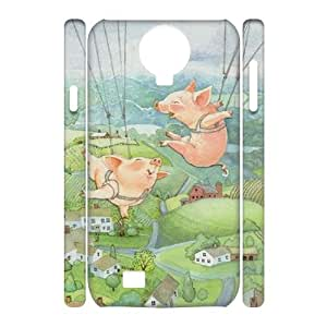 Clzpg 3D Brand SamSung Galaxy S4 I9500 Case - Pig DIY 3D phone case