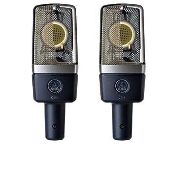 Image of AKG Pro Audio C214 Professional Large-Diaphragm Condenser Microphone, Grey Multipurpose