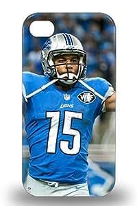 Iphone Premium Protective Hard Case For Iphone 4/4s Nice Design NFL Detroit Lions Golden Tate #15 ( Custom Picture iPhone 6, iPhone 6 PLUS, iPhone 5, iPhone 5S, iPhone 5C, iPhone 4, iPhone 4S,Galaxy S6,Galaxy S5,Galaxy S4,Galaxy S3,Note 3,iPad Mini-Mini 2,iPad Air )