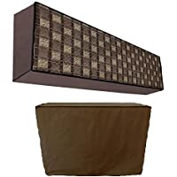 Stylista Ac Cover Set Of Indoor And Outdoor Unit For 1.5 Ton Capacity