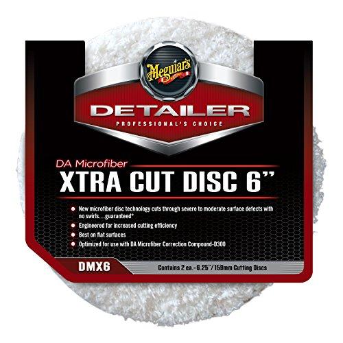 "Meguiar's DMX6 DA Microfiber Xtra Cut 6"" Disc"