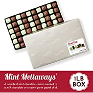 Fannie May Milk Chocolate Mint Meltaways, Chocolate Candy Gift Box, Perfect Easter Basket Stuffers, 1 lb
