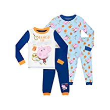 George Pig Pajamas Boys' George Pig 2 Pack Pajamas