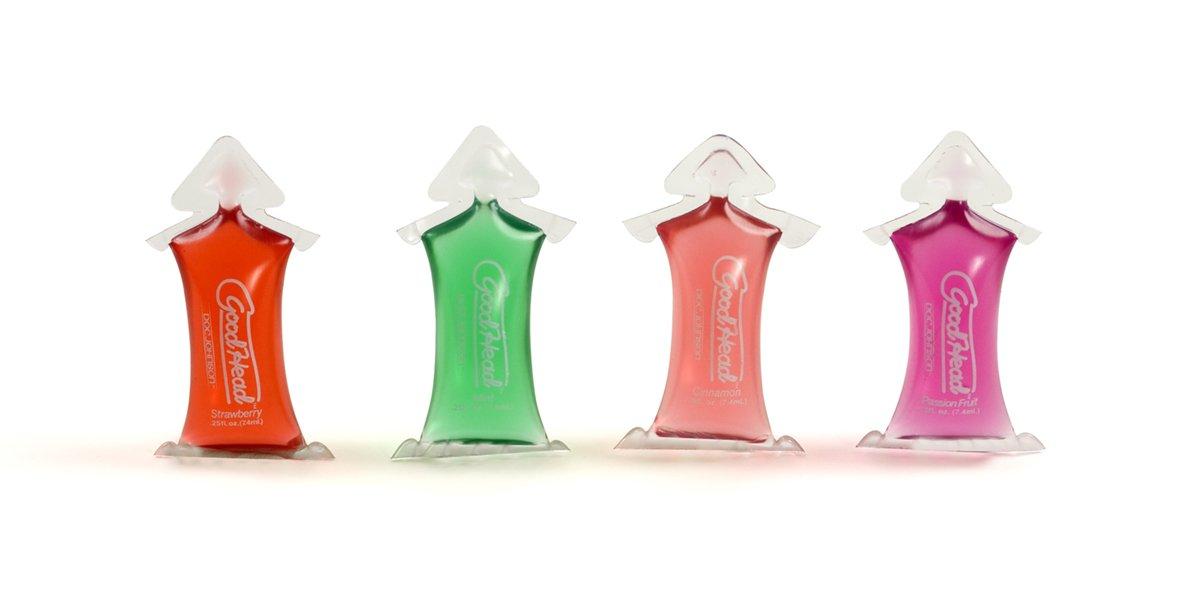 Top Rated - GoodHead Lube Mini Packs - Gel Bowl (216 .25 oz.) by Erotic Favorites