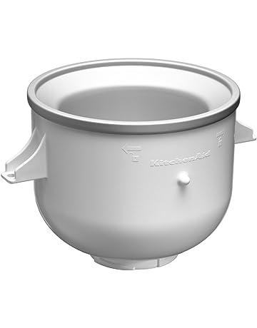 KitchenAid KICAOWH - Accesorio para helado para los robots de cocina KSM90 / K5 / K45