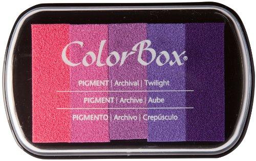 ColorBox Classic Pigment Multi-color Inkpads, Twilight ()