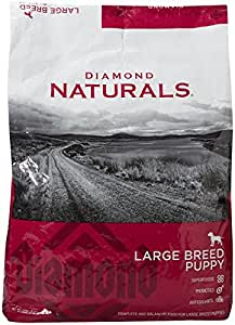 Diamond Naturals Dry Food for Puppy, Large Breed Lamb and