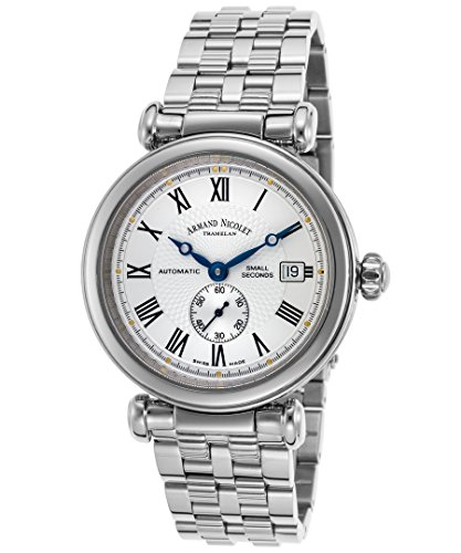 Armand Nicolet 9425A-Ag-M9420 Men's Arc Royal Automatic Stainless Steel Silver-Tone Dial Watch