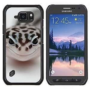 TECHCASE---Cubierta de la caja de protección para la piel dura ** Samsung Galaxy S6 Active G890A ** --Feliz Serpiente