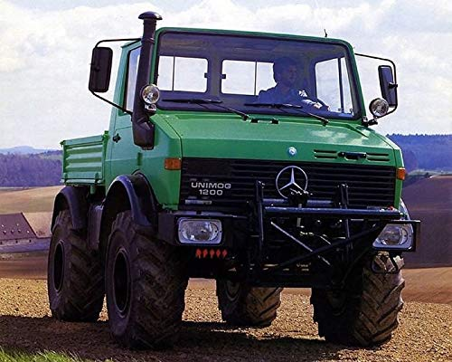 1986 Mercedes Benz Unimog 1200 Agriculture Truck Factory Photo