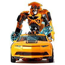Transformers: The Last Knight Premier Edition Deluxe Bumblebee Optimus Prime's Loyal Friend