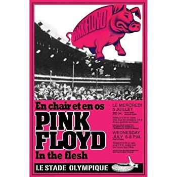 PINK FLOYD US 8.5X 11 INCHES THEM PIG POSTER GLOSS