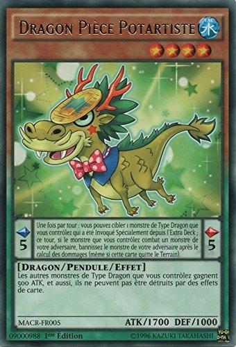 R Yugioh Dragon Pi/èce Potartiste MACR