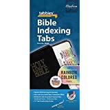Large Print Rainbow Colored Old and New Testament Bible Indexing Tabs