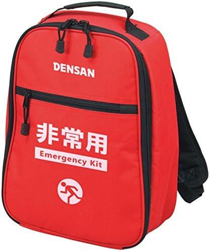 デンサン エマージェンシーバッグ(バックのみ) 非常用品袋 リュックサックタイプ EKB-38R
