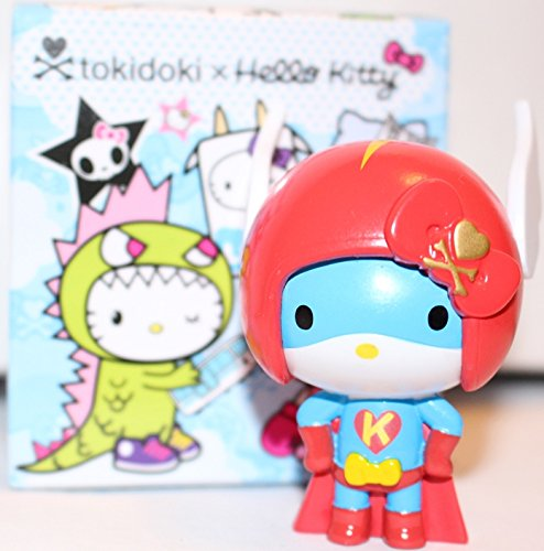 Superhero Kitty (Tokidoki x Hello Kitty 2.5-inch Vinyl Figure - Superhero Kitty)