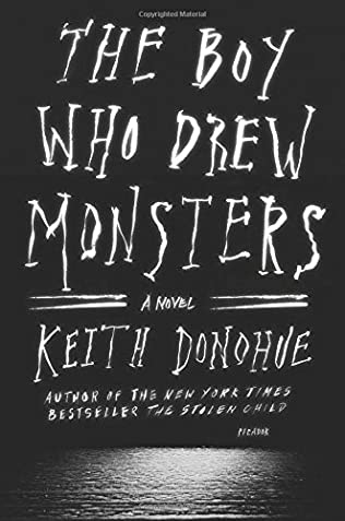 book cover of The Boy Who Drew Monsters
