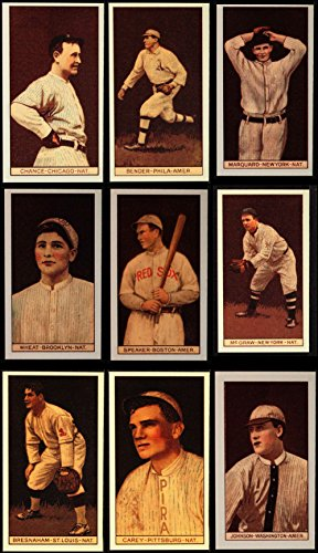 1912 T207 Reprint Complete Set (Baseball Set) Dean's Cards 8 - NM/MT