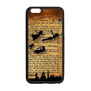 Customize TPU Gel Skin Case Cover for iphone 6+, iphone 6 plus Cover (5.5 inch), Peter Pan
