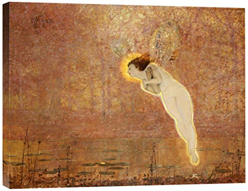 Global Gallery GCS-264959-30-142 John Atkinson Grimshaw Iris Gallery Wrap Giclee on Canvas Print Wall Art
