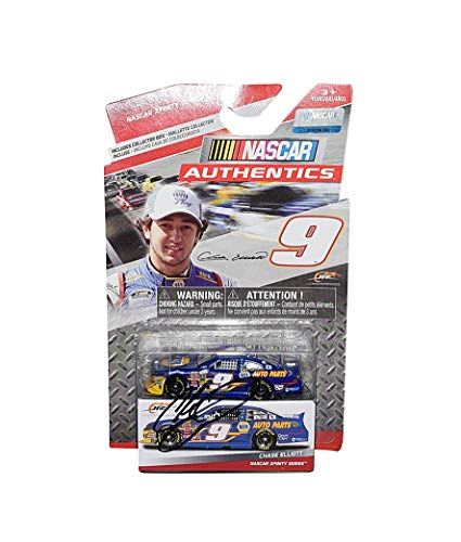 AUTOGRAPHED 2014 Chase Elliott #9 NAPA Auto Parts Racing (JR Motorsports) Xfinity Series NASCAR Authentics Signed Lionel 1/64 Scale NASCAR Diecast Car with COA