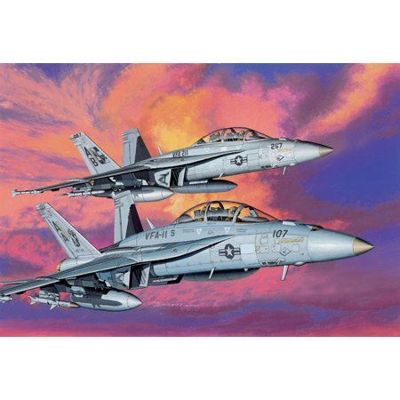 1 Dragon 144 - Dragon 1/144 F/A-18F Super Hornet VFA-11 & VGA-211 by Dragon Models USA