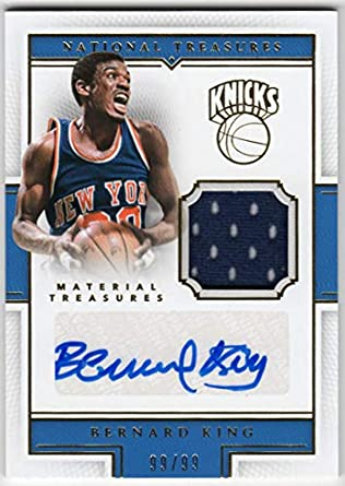 separation shoes b0ae9 95fcb Amazon.com: Bernard King 2015-16 Panini National Treasures ...
