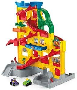 FP T4261 Wheelies de Little People Stand-n-Play Rampway (Mattel)